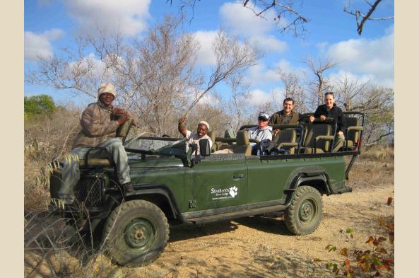 Trans Kalahari safari