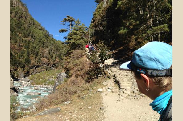The trekking is challenging, but rewarding