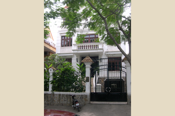 Hanoi has many stately buildings