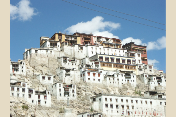 Explore Thikse Monastery, largest in Ladakh