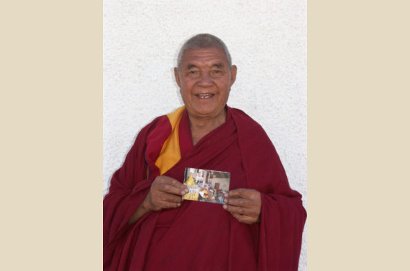 Visit another monastery and meet the resident monks