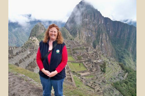 Journeys South America Destination Specialist Lene Minder takes in the full splendor of Machu Picchu