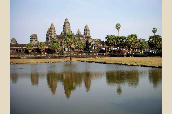 Angkor Wat is just outside of Siem Reap