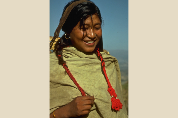 Meet Nepali such as this village girl
