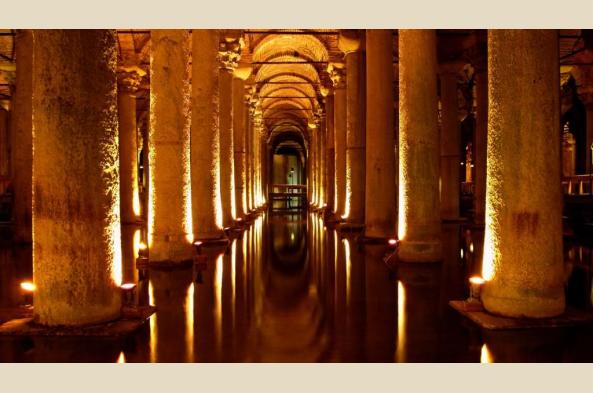 Explore Istanbul's atmospheric Basilica Cistern