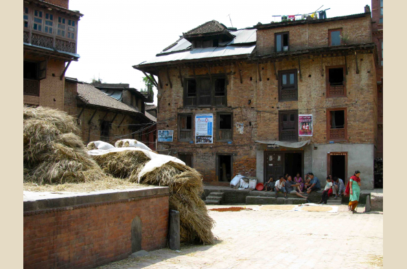 Stop at the village of Bhaktapur