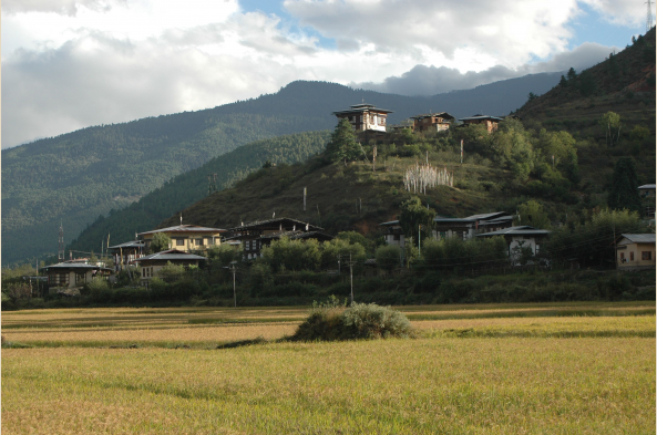 Explore monasteries, villages, and valleys in Bhutan