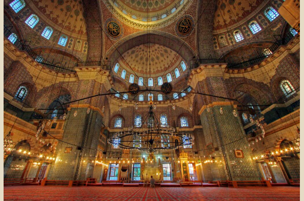 Feast your eyes on the iconic Blue Mosque
