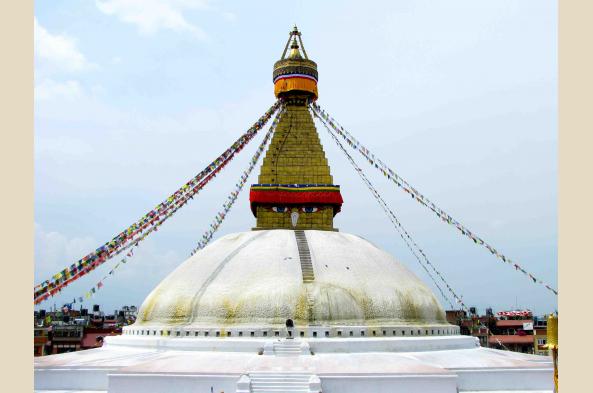 Boudhanath Stupa, an icon of Kathmandu