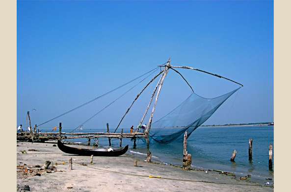 Explore Cochin, meet fishermen, and see the famous fishing nets