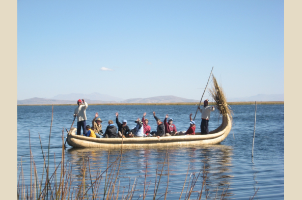 It's a shame to go to Peru without witnessing the culture of Lake Titicaca