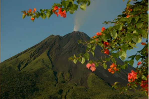 Explore Arenal Volcano, active until 2010