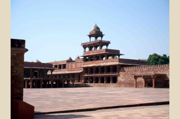 Explore the abandoned city of Fatehpur Sikri