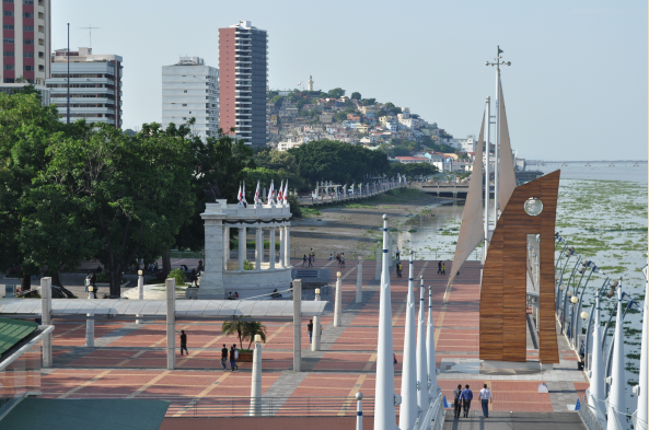 Wander along Guayaquil's lovely Malecon