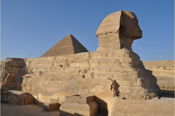 Giza pyramids and the enigmatic Sphinx