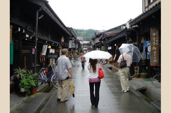 Explore atmospheric Hida Takayama's market streets