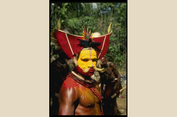 Meet and learn about the Huli people
