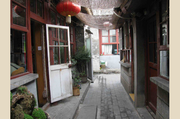 Explore atmospheric hutong alleys