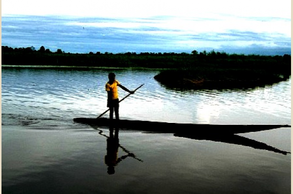 Explore the waterways of the Sepik