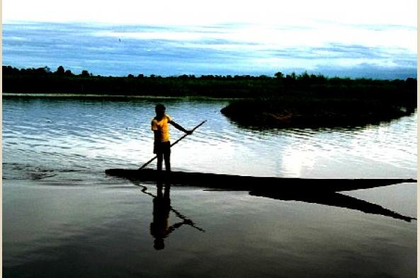 Explore the waterways of the Sepik