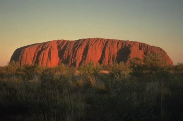 Uluru is a natural icon