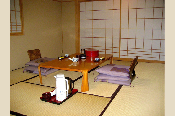 Ready for a typical ryokan meal