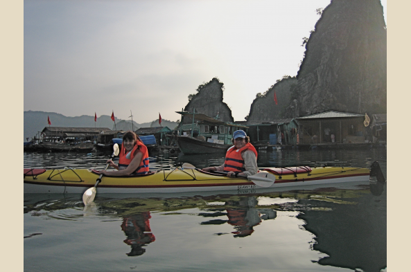 Kayaking gives you freedom to explore the bay as you wish