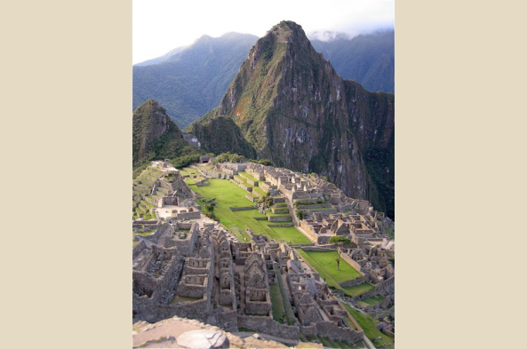 Enjoy views of Machu Picchu from Huayna Picchu, high above