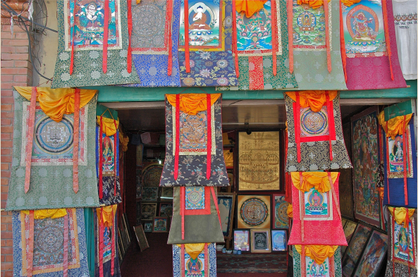 Kathmandu's colorful shops have much to offer