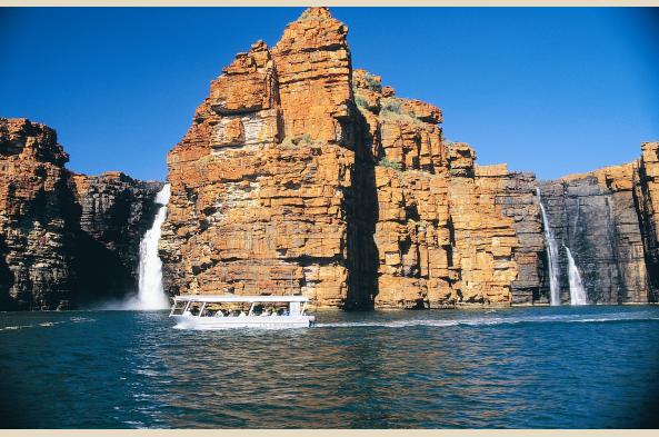 Falls along the Kimberley Coast