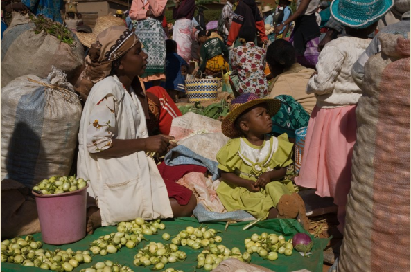 Local market (photo by Joseph Tenne)