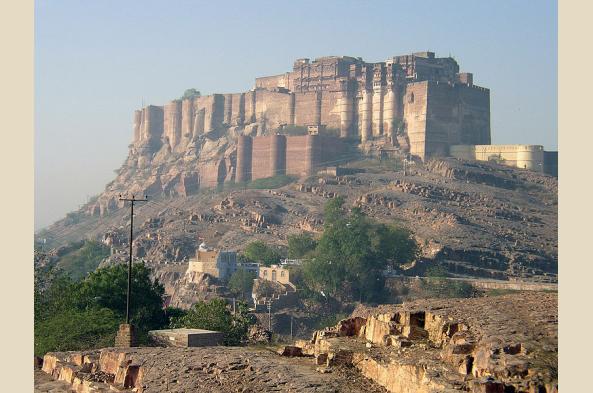Tour Jodhpur's imposing Mehrangarh Fort