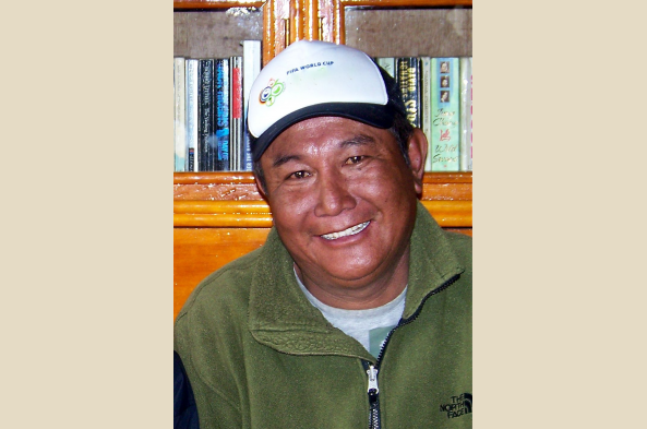 Your host, Natang Sherpa, of Namche and Journeys.