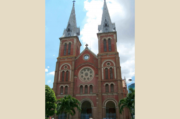 See the Notre Dame Cathedral in Saigon