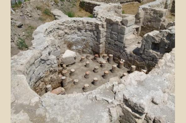 Explore historic ruins