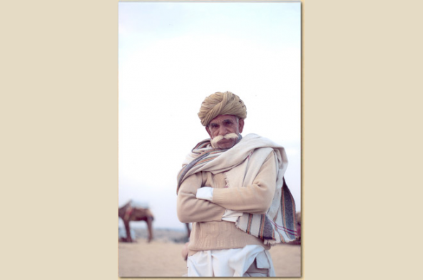 Meet the people of Shergarh during your stay in the desert