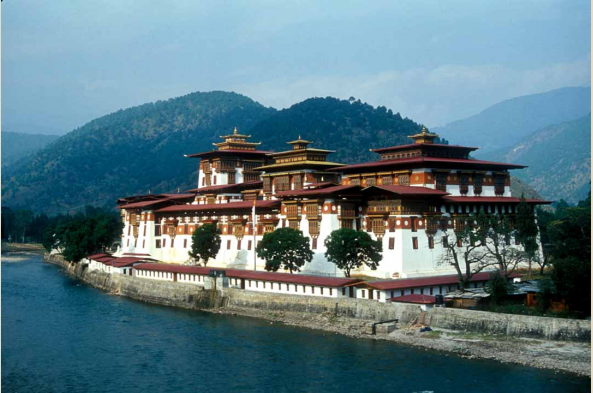 Visit the Punakha Dzong
