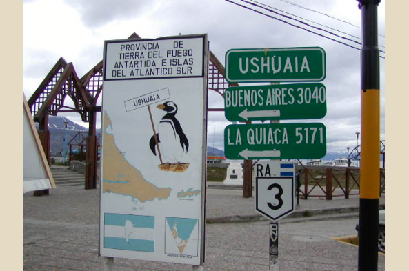 Welcome to Ushuaia.