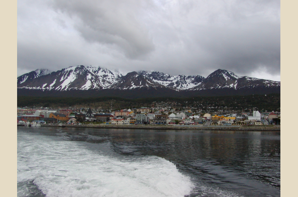 Back to the shores of Ushuaia.