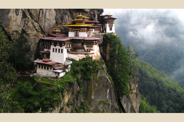 Hike up to otherworldly Taktsang (photo by D.J. McLaughlin)