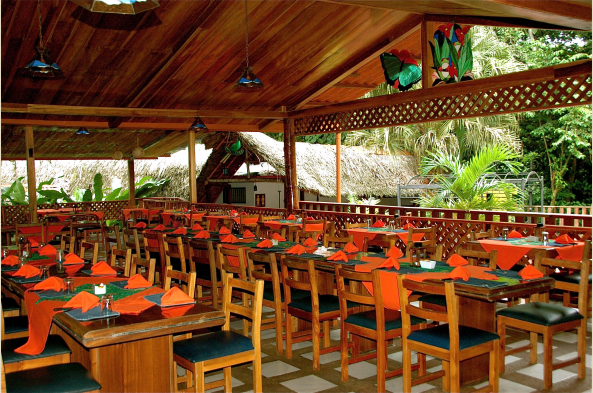 The dining at La Quinta is open-air, the food is fresh and well-prepared