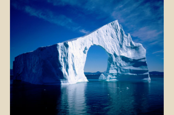 Disko Bay ice-scape