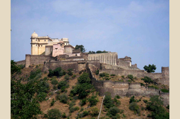 See the Udaipur Fort from the City Palace