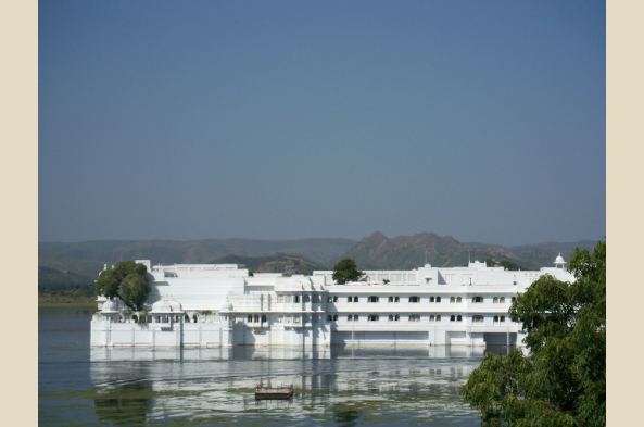 See the beautiful Jag Niwas Palace in Udaipur