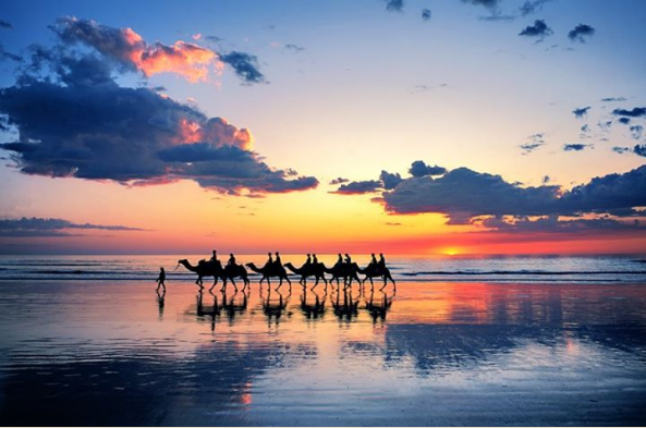 Sunset in Broome