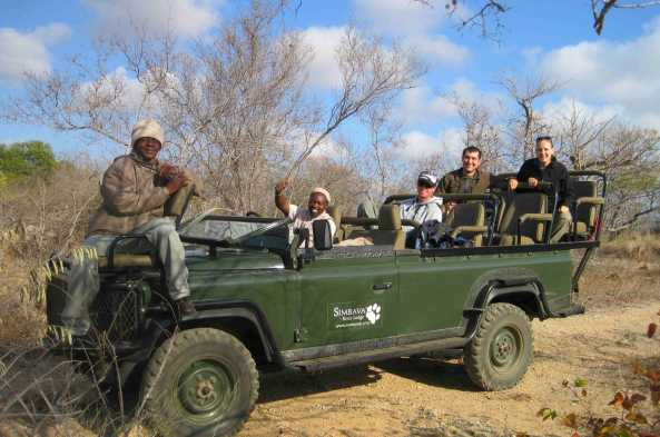 Spot wildlife from your open 4x4 safari vehicle