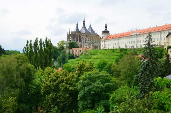 Prague Castle dates back to the 9th century
