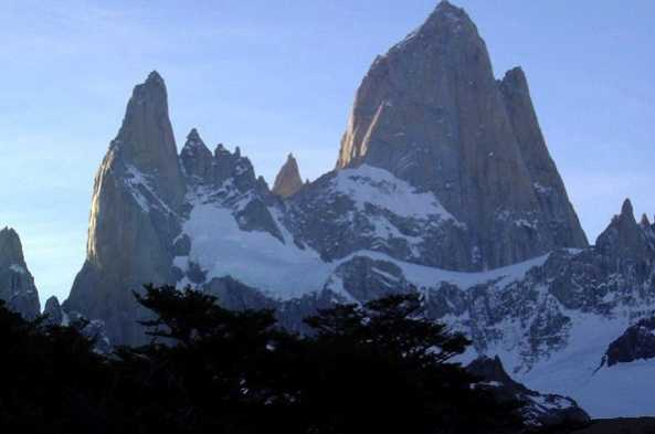 The iconic silhouette of Mount Fitz Roy stands as a timeless landmark