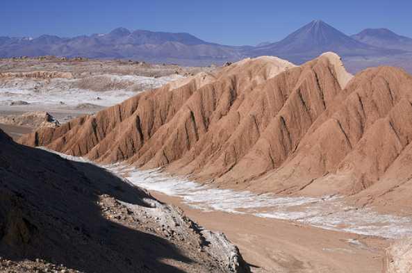 View Cordillera de la Sal en route to San Pedro. (Photo by Mik Chile)