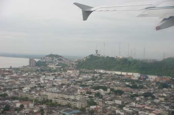 Arrive in the busy waterfront city of Guayaquil